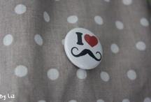 Déco - moustaches, étoiles, nuages / by Com2Filles - blog DIY