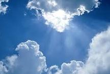 Clouds / ~ I'm at home in the clouds ~ / by Sherri Elliott