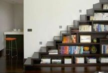 Books on their shelves / Will I ever have so many walls to line up with bookshelves? / by Mai Miranda