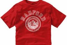 Radford Fashion & Gift Ideas / Radford University apparel and gifts from the official on-campus bookstore.  / by Radford University
