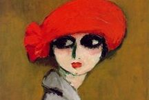 Kees Van Dongen (1877 - 1968 ) / Kees van Dongen (26.01.1877, Rotterdam - 28.05.1968, Monte Carlo)), born in Holland and a naturalized Frenchman, began his career as a Fauvist painter, later acquiring a reputation as a portraitist and socialite.