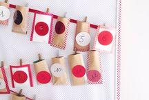 Fêtes - Noël - calendrier de l'avent / by Liz-Ln Comdeuxfilles