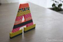 DIY - masking tape / by Com2Filles - blog DIY