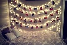 College Life / Some days you would just rather eat in your dorm room. We have some great ideas for great meals. We also give you ideas to make your room as cozy as possible! dormfood bigy greatdormroom decorateyourdorm string lights