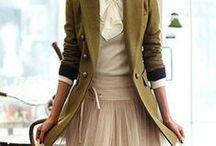 Fashion Ideas (office/professional) / Wardrobe styles.