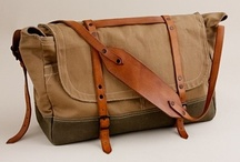 Bags, backpacks and man purse / by David Prenoveau