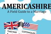 Americashire / Images from the book, including field guides to four Cotswold walks.