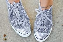 Sneakers / How to style a closet essential. #Sneakers #Kicks #TennisShoes #hightops #lowtops