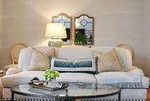 Tyler Court project / living room, master bedroom, stairwell, kitchen/eat-in makeover, 2014-2015 by powellbrower interiors