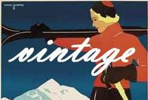 Vintage Austria / A journey back in time: posters of the last century and more