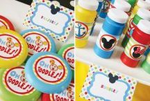 Mickey Mouse Clubhouse / All Things Mickey Mouse Clubhouse #birthday #party #partyideas #MMCH #MickeyMouse