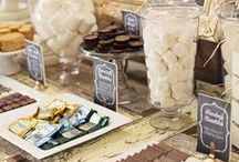 S'mores Bar / Ideas for creating your own S'mores Bar! Perfect for any party or get-together!