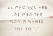 Inspiring Quotes / Inspirational quotes, motivational words.