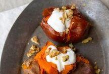 Sweet Potatoes / One potato, two potato, sweet potato, four.