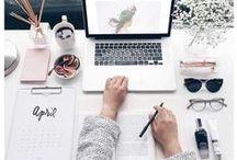 Workspace Goals / Inspiration for kickass work & office space. #goals
