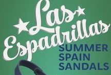 SUMMER SPAIN SANDALS WOMEN'S AND MEN'S COMFORT COLLECTIONS / Brand Las Espadrillas introduced a new summer collection of Spanish shoes. Men's and women's sandals are made of genuine leather, soles of high quality nubuck.
