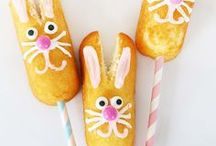 Easter + Spring ☂ / Delicious, MUST bake, Easter and Spring Desserts. Hoppy Easter cupcakes, PEEPs treats, Easter bunnies, Easter chicks, and seriously everything Easter desserts and springtime desserts.