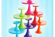 Cake Stands / Serve food in style with cake stands and cake plates, and satisfy an obsession with sharing cakes, cupcakes, desserts, and food beautifully!