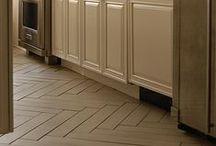 Floors / Hardwood, Ceramic, Bamboo, Painted Floors, Concrete / by Jessica Wilson