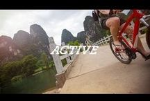 Active Travel / Faster. Higher. Stronger. Funner.  There are plenty of great places to take things slow on this amazing planet of ours, but what if you want to go a little faster? Take an Active trip. We provide the equipment, the experts, and the opportunity; you provide the energy. / by G Adventures