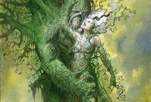 Green Man & Woman