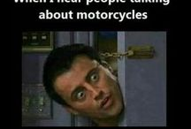 Biker Humor / Even the toughest bikers like a good laugh.