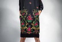 Kolekcja folk/folk fashion / Moda w stylu ludowym - góralskie inspiracje i wzory. Folk art in clothing