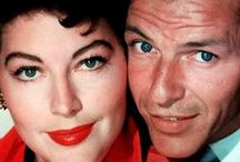 Frank & Ava / the beauty that is Frank Sinatra and Ava Gardner - one of my favorite Hollywood couples.