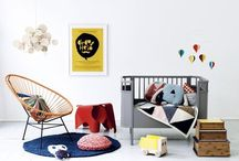 Nursery / Babies rooms, kids rooms, play rooms and playful spaces  / by beth maher