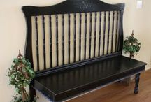 Great Ideas for Re-Purposing Furniture / Furniture re-do's--a little vision is all it takes.