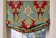 Great Ideas for Window Treatments / Creativity at the window--I cannot get enough of it!