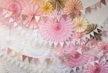 Decor for celebrations -