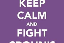 Keep Calm and Fight Crohn's / My battle with this ugly disease began on 2/5/2013. I needed life saving surgery that provided me with my now permanent colostomy. I'm also a member if the remicade club.  / by Shannon Ludwig