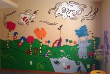 Dr Seuss Room! / Dr Seuss Room - Nursery - Neutral Nursery  / by Michelle