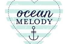 Ocean Melody Collection / Ocean Melody is one of our new Monthly Mini collections created by Adrienne Looman. Here you can find everything in the collection, as well as projects from our Design Team using this collection.