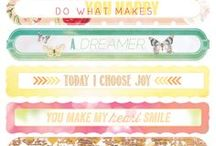 Quote It! / Some of our favorite quotes and phrases.