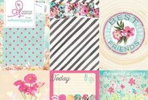 Beautiful Chic Collection / Webster's Pages New Paper, Vellum & Sticker collection by Adrienne Looman