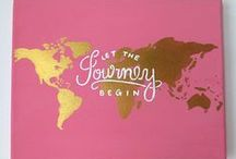 Worldly Inspiration / travel quotes / by Kerry O
