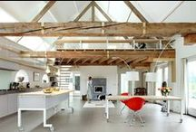 good bones / How to live in a barn. Or a warehouse, or an old industrial building...