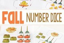 Fall Activities for Early Elementary / Fall activities for kindergarten, first grade, and second grade. Practice reading, writing, math, science, and more with these fall themed learning activities.