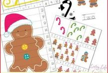 Christmas Activities for Upper Elementary / Christmas themed ideas, learning activities, and games, all designed for upper elementary.