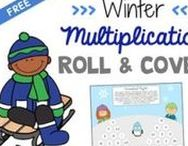 WInter Activities For Upper Grades / Keep upper elementary students engaged with these winter themed activities. Reading, writing, math, science, and more all with a winter theme.
