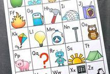 Alphabet Activities / Find alphabet activities and printables for your classroom or homeschool.  Hands-on activities and games are perfect to teach preschool and kindergarten.