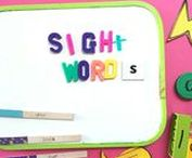 Sight Words / Teaching sight words doesn't have to be boring. This board has tons of games, activities, and printables that will make learning sight words fun.