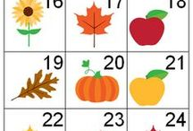 Calendar Pieces / Calendar printables for your home or classroom.