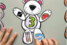 Number Recognition and Counting Activities / Help children recognize numbers, count, and build number sense with these activities. Printable resources, activities, and math games perfect for preschoolers and Kindergartners.