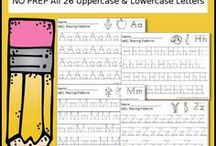 Handwriting / Activities, games, and resources to help practice handwriting skills and build pencil grasp and fine motor skills.