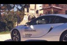 Prova su strada BMW i8 / Siete curiosi di vedere il risultato che abbiamo ottenuto nell'unire la nostra creatività al carattere sportivo della BMW i8 e al fascino del Collio? #StayTuned