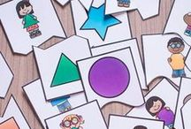 Shapes / Teach shapes in your homeschool or classroom with these activities, printables, and lesson plans.