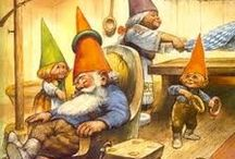 Fairies and gnomes / by Nancy Turner